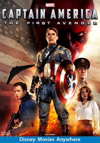 Captain America: The First Avenger [VUDU, iTunes, Movies Anywhere - HD]