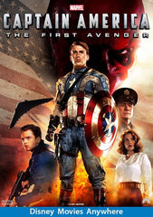Captain America: The First Avenger [VUDU, iTunes, or Disney - HD]