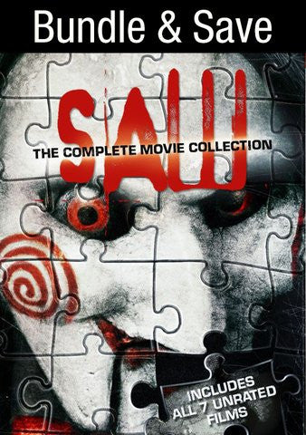Saw: The Complete Collection (unrated) [Ultraviolet - SD]