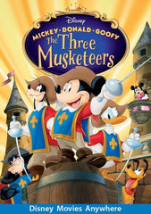 Mickey, Donald, Goofy: The Three Musketeers [VUDU, iTunes, OR Disney DMA/DMR - HD]