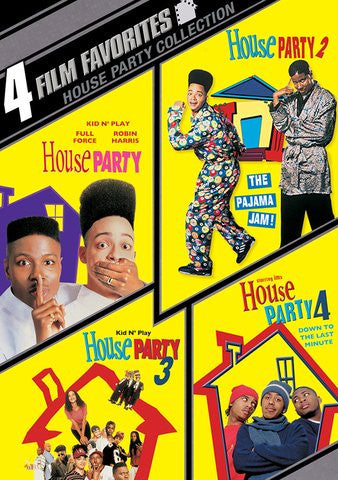 4 Film Favorites: House Party Collection [Ultraviolet - SD]