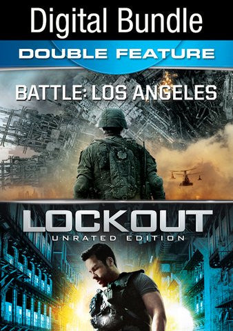 Battle Los Angeles & Lockout (Both Movies!) [Ultraviolet - HD]