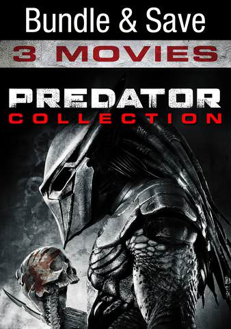 Predator 3 Movie Collection [Ultraviolet - HD or iTunes - HD via MA]
