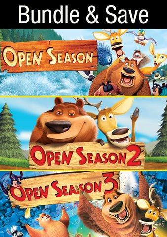 Open Season Trilogy (3 movies!) [Ultraviolet - SD]