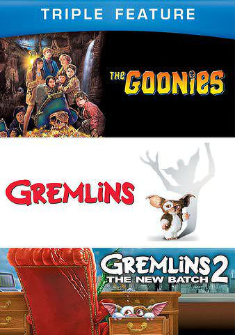 Triple Feature: The Goonies, Gremlins 1 & 2 [Ultraviolet - SD]