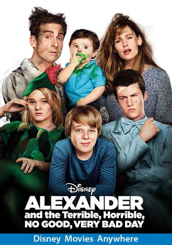 Alexander and the Terrible, Horrible, No Good, Very Bad Day [VUDU OR Disney DMA/DMR - HD]