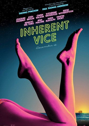 Inherent Vice [VUDU - HD or iTunes - HD via MA]