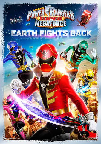 Power Rangers Super Megaforce: Earth Fights Back [Ultraviolet - SD]