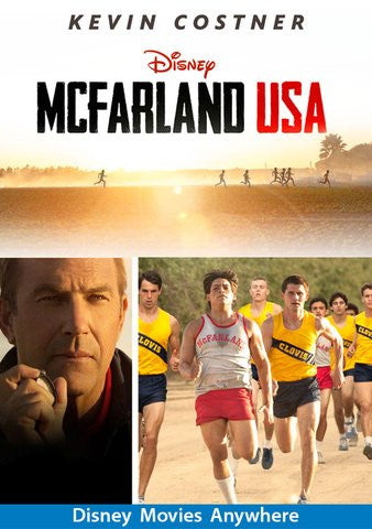 McFarland, USA [VUDU OR Disney DMA/DMR - HD]