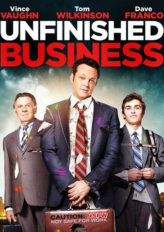 Unfinished Business [Ultraviolet OR iTunes - HDX]