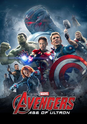 Avengers: Age of Ultron [VUDU, iTunes, or Disney - HD]