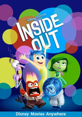 Inside Out [VUDU, iTunes, OR Disney - HD]