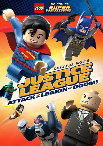 LEGO DC Super Heroes: Justice League - Attack of the Legion of Doom! [Ultraviolet - HD or iTunes - HD via MA]