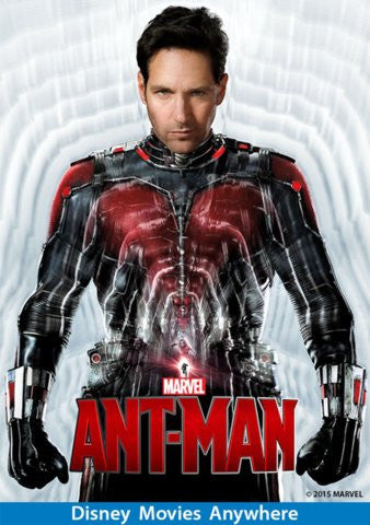 Ant-Man [VUDU, iTunes, Movies Anywhere - HD]