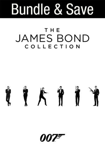 The James Bond Ultimate Collection (23 movies!) [Ultraviolet - HD]