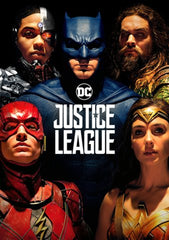 Justice League [Ultraviolet - HD or iTunes - HD via MA]