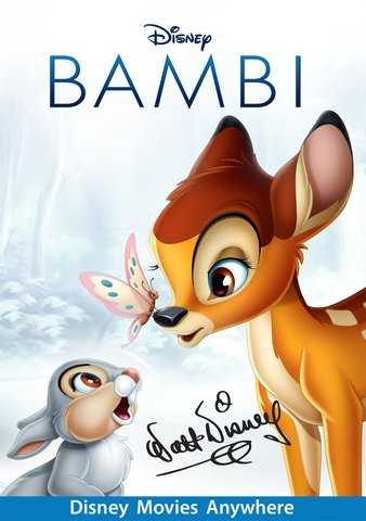 Bambi [VUDU, iTunes, or Disney - HD]