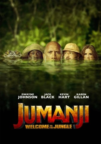 Jumanji: Welcome to the Jungle [Ultraviolet - SD or iTunes - SD via MA]