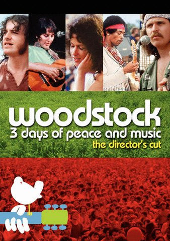 Woodstock: 3 Days od Peace and Music (Director's Cut) [Ultraviolet - HD]