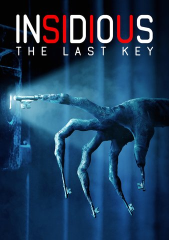Insidious: The Last Key [Ultraviolet - HD or iTunes - HD via MA]