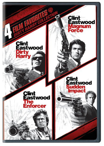 4 Film Favorites: Dirty Harry Collection [Ultraviolet - SD]