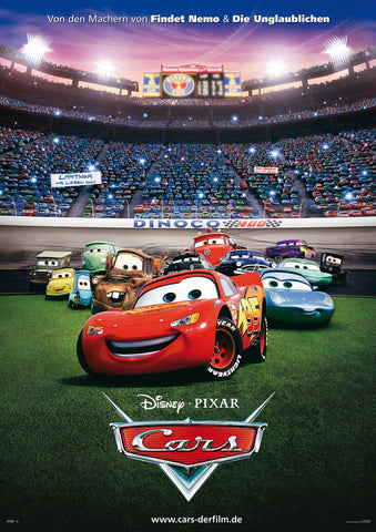 Cars [VUDU, iTunes, or Disney DMA/DMR - HD]