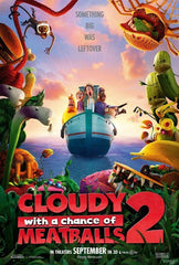 Cloudy with a Chance of Meatballs 2 [VUDU - SD or iTunes - SD via MA]