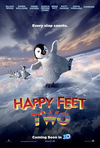 Happy Feet Two [Ultraviolet - HD or iTunes - HD via MA]