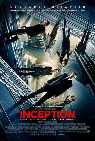 Inception [Ultraviolet - HD or iTunes - HD via MA]