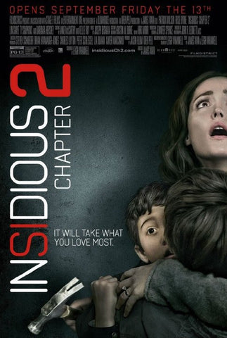 Insidious: Chapter 2 [VUDU - SD or iTunes - SD via MA]