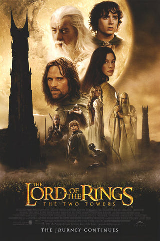 The Lord of the Rings: The Two Towers [VUDU - HD or iTunes - HD via MA]