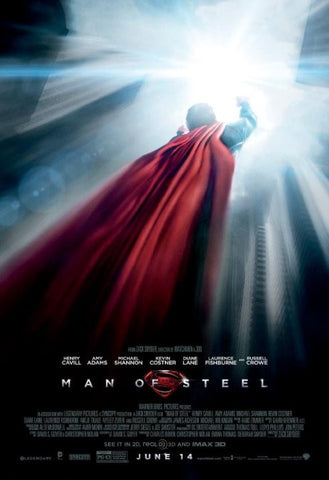 Man of Steel [VUDU - HD or iTunes - HD via MA]