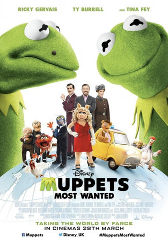 Muppets Most Wanted [VUDU, iTunes, OR Disney - HD]