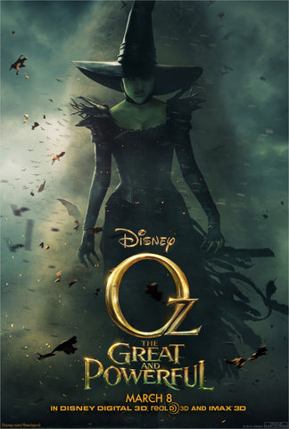 Oz the Great and Powerful [VUDU, iTunes, OR Disney - HD]