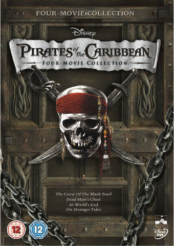 Pirates of the Caribbean 4 Movie Collection [Disney DMA/DMR - HD]