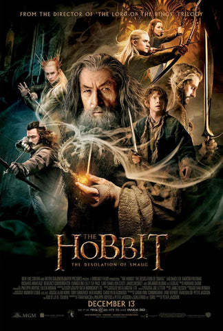 The Hobbit: The Desolation of Smaug [VUDU - HD or iTunes - HD via MA]