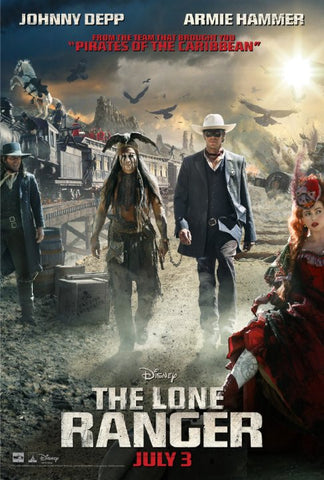The Lone Ranger [VUDU, iTunes OR Disney - HD]