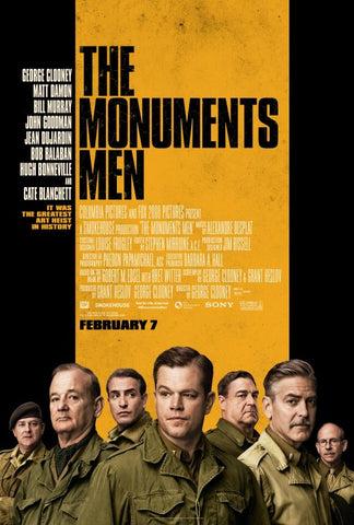 The Monuments Men [VUDU - HD or iTunes - HD via MA]