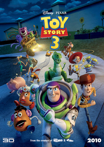 Toy Story 3 [VUDU, iTunes, OR Disney - HD]
