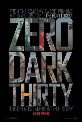 Zero Dark Thirty [VUDU - HD or iTunes - HD via MA]