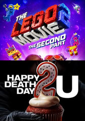 The Lego Movie 2 & Happy Death Day 2U Bundle [VUDU Instawatch - HD, iTunes via MA]