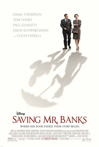 Saving Mr. Banks [VUDU, iTunes, OR Disney DMA/DMR - HD]