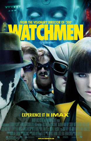 Watchmen [Ultraviolet - HD or iTunes - HD via MA]