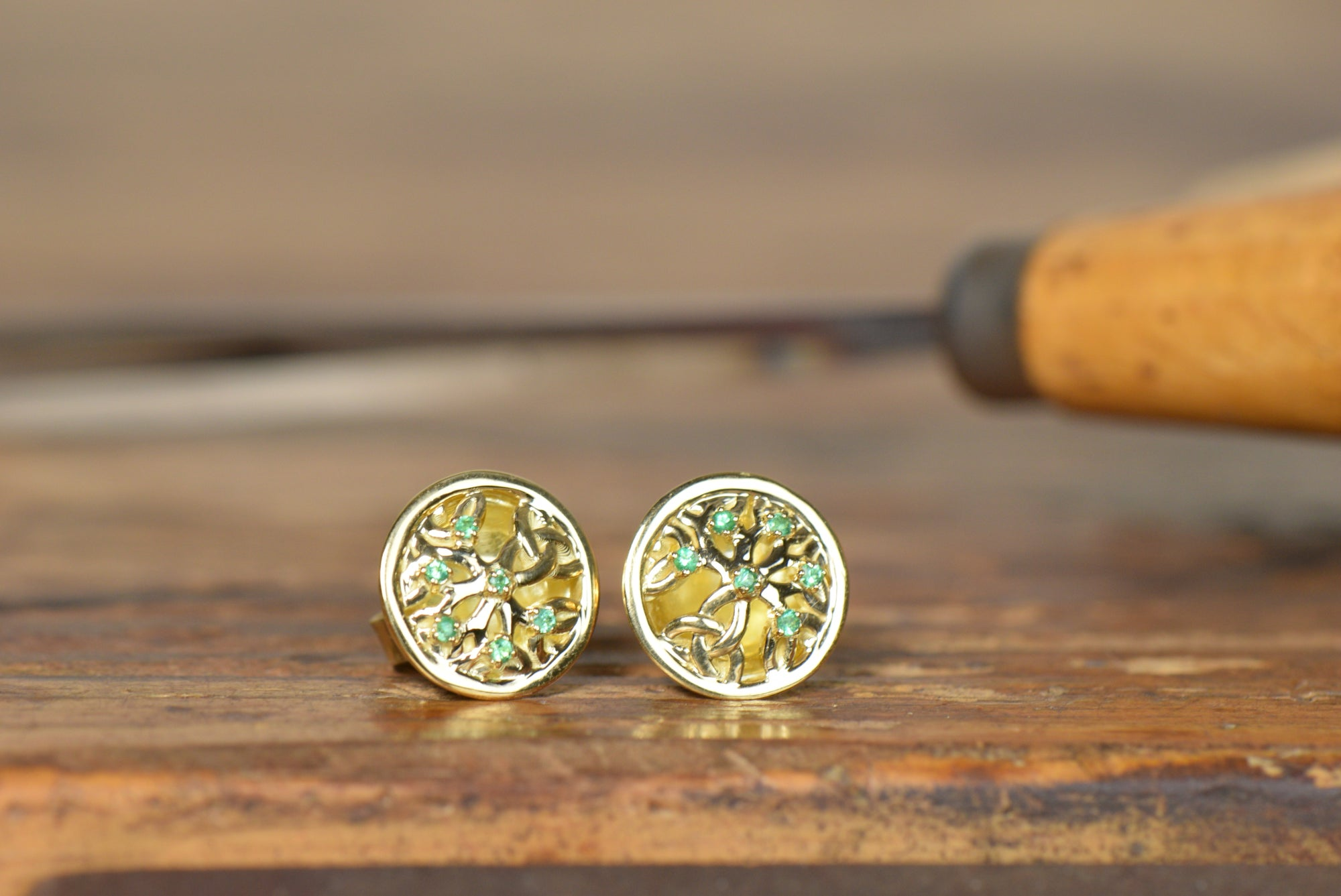 custom bespoke earrings