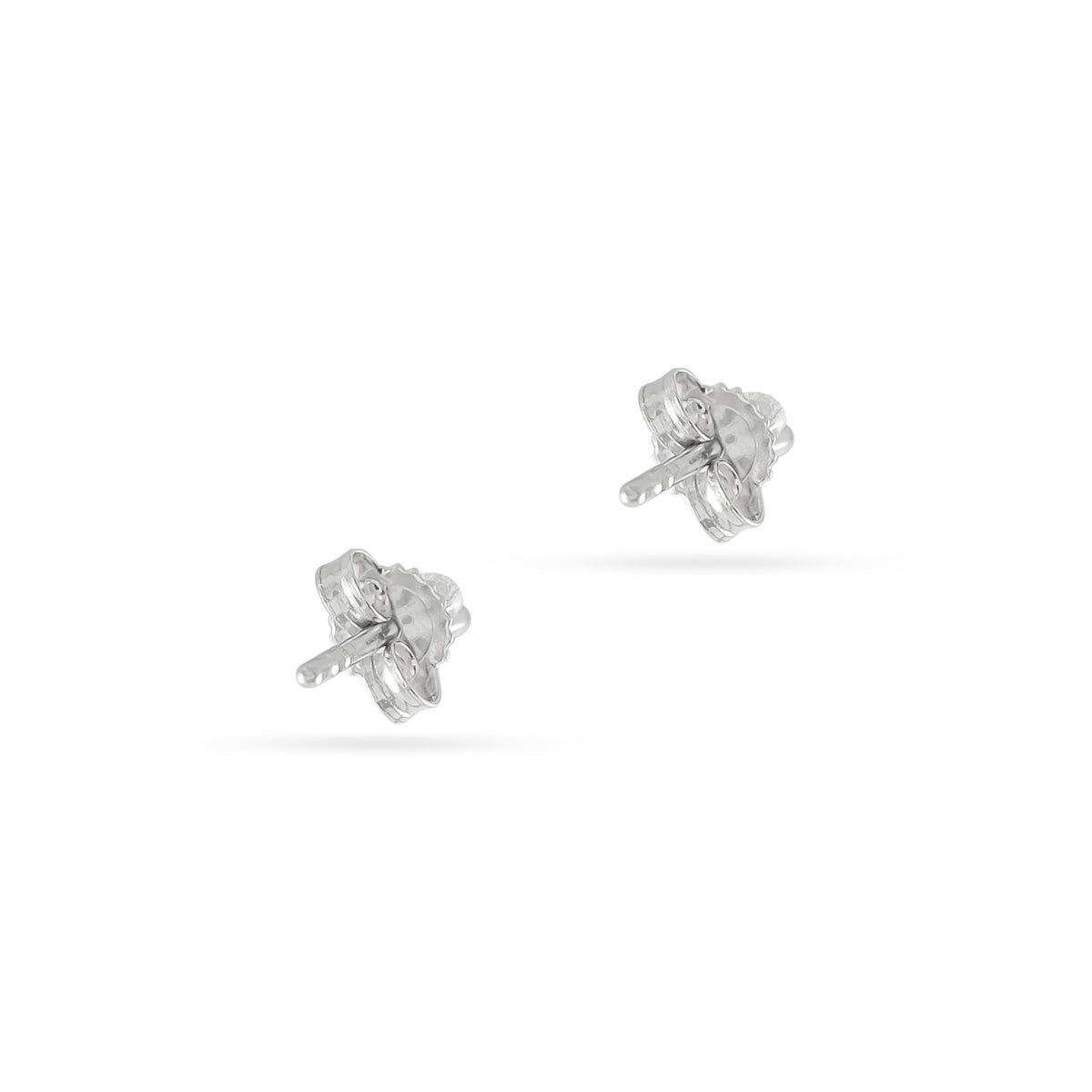 0.10ct 18ct White Gold Diamond Stud Earrings