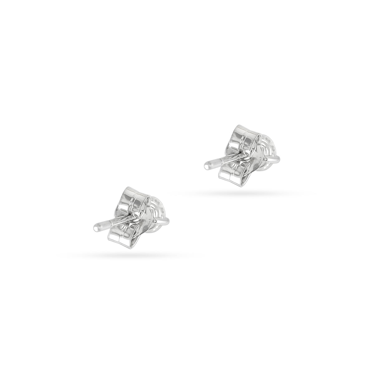 0.17ct 18ct White Gold Diamond Stud Earrings