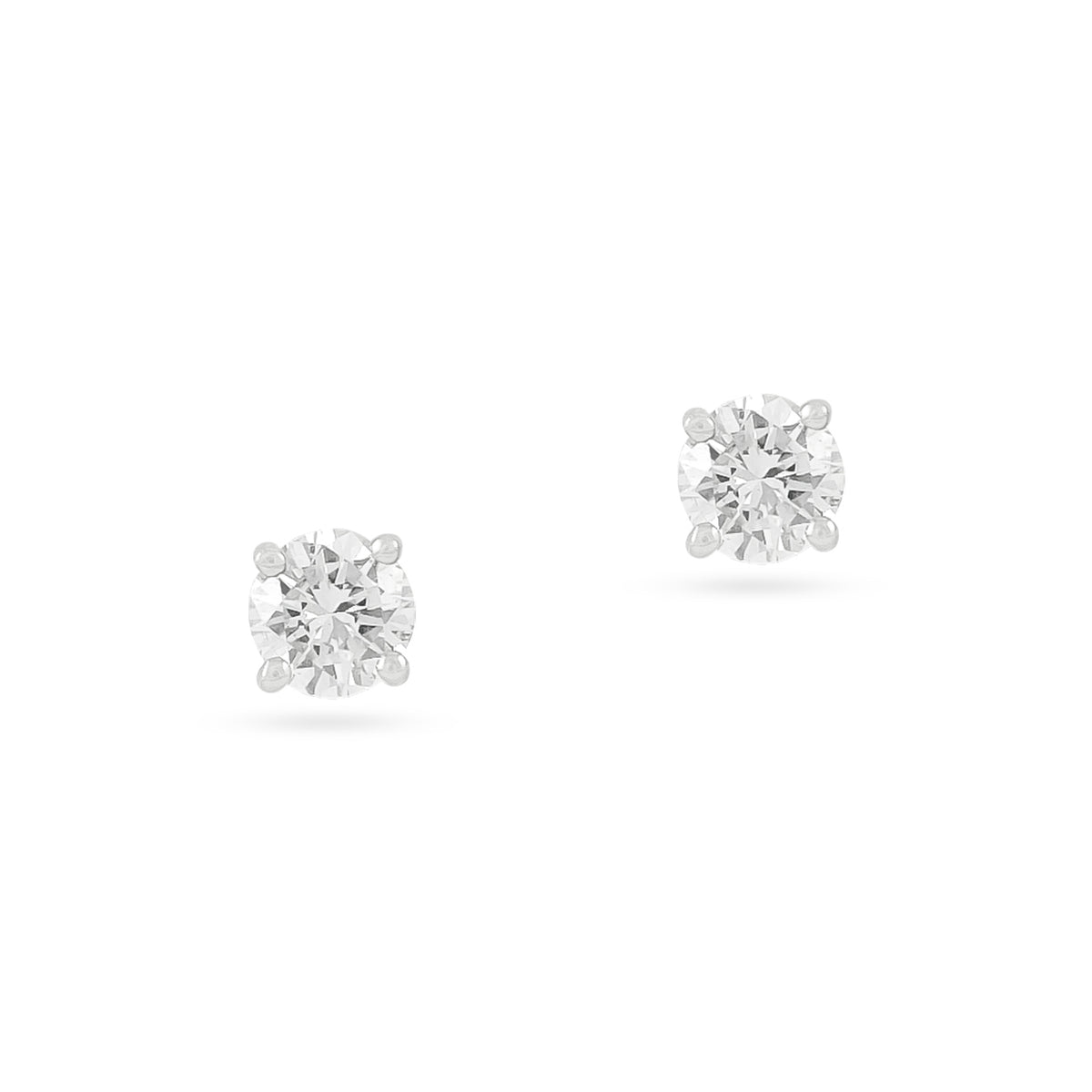 0.35ct 18ct White Gold Diamond Stud Earrings