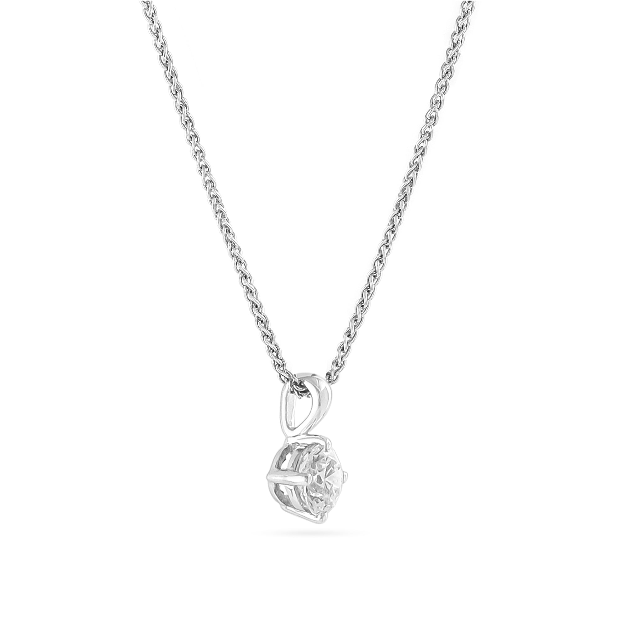 0.71ct Brilliant-Cut Diamond Pendant