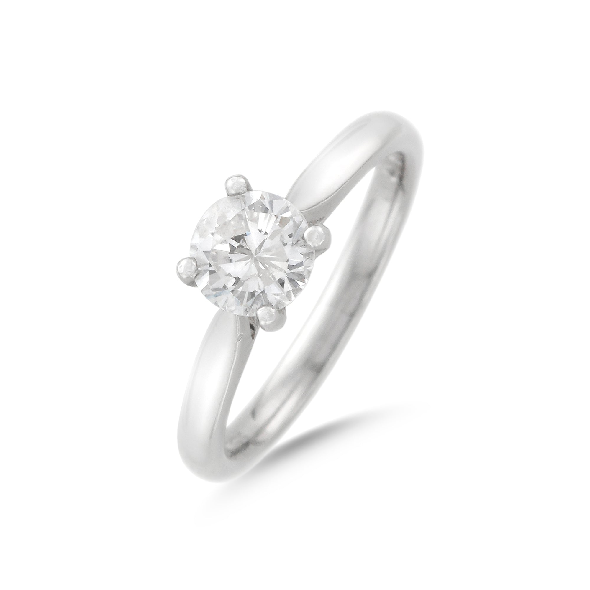 0.75ct Round Brilliant Diamond Engagement Ring