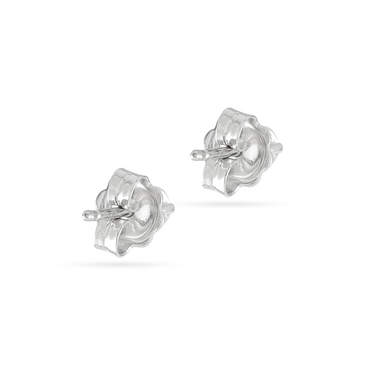 1.04ct 18ct White Gold Diamond Stud Earrings